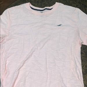 Hollister men's size small pink shirt never worn